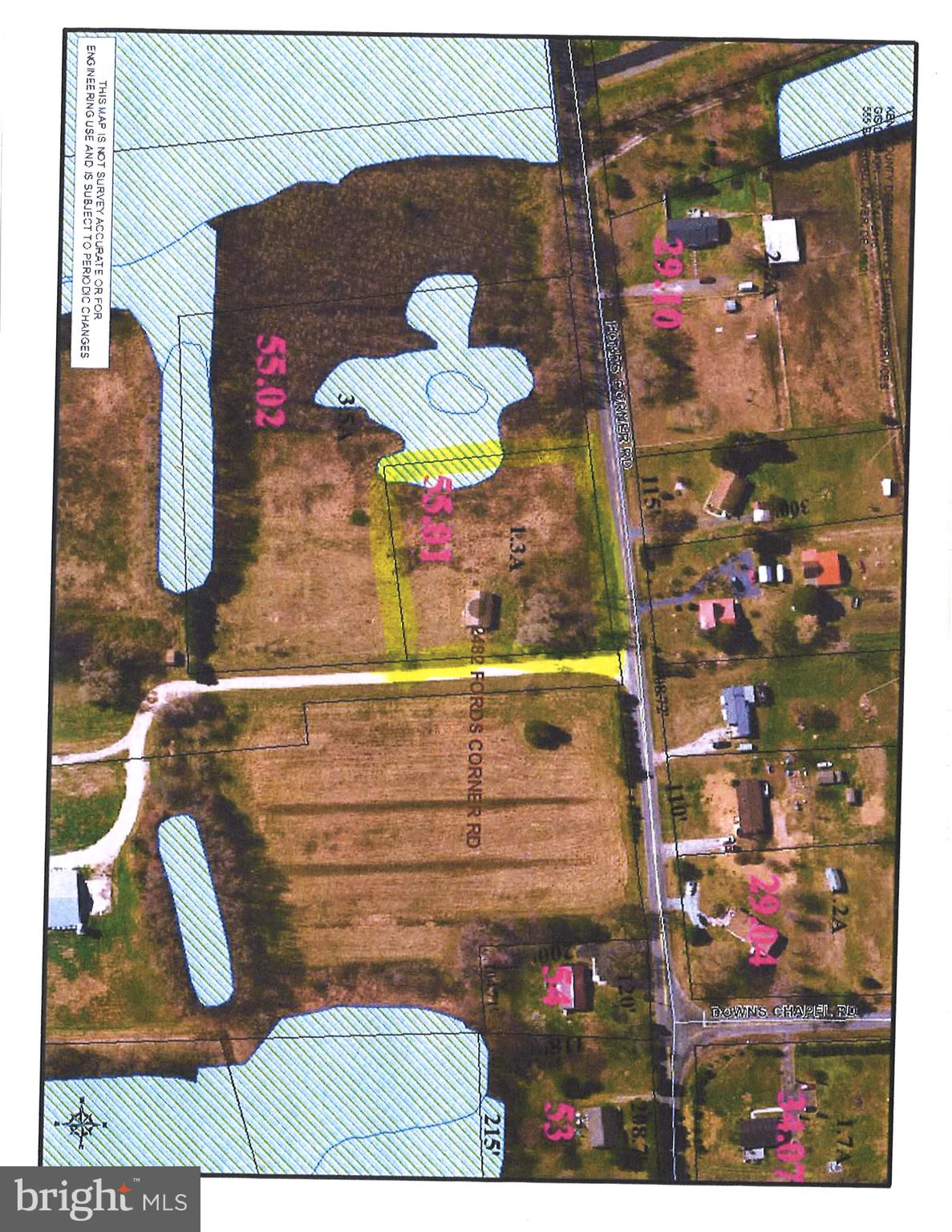1.3 acres with an unfinished home, out in the country.  Perfect if you are interested in becoming a flipper or make this your dream home.  Site work needs updating.  Previous site work indicated LPP.  Lot is in the process of being cleared, home has no value.
