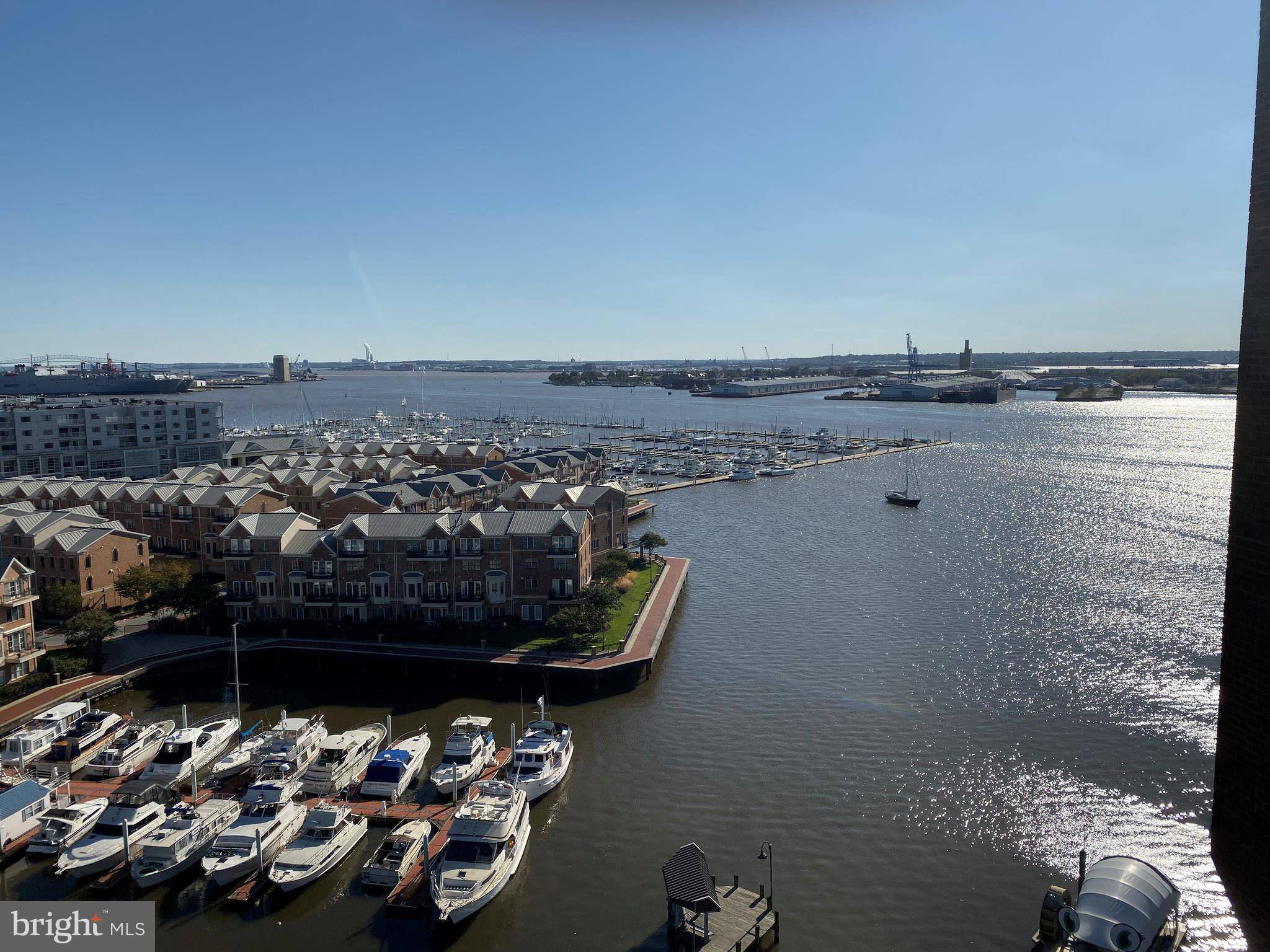 $40,000 price drop.   Great opportunity to get this 1 bedroom condo located on the 12th floor of the Anchorage Towers.  Views of the outer harbor and Ft. McHenry, Key Bridge, and Marinas.   Come and add your own touches to make this yours.   You will be amazed at the views.  24 hr front desk security.  Parking included in price.  Close to all shops and restaurants.  And one of the best benefits of this building is guest parking.  No more having your guest drive around the city looking for a place to park.   Low condo fees also.
