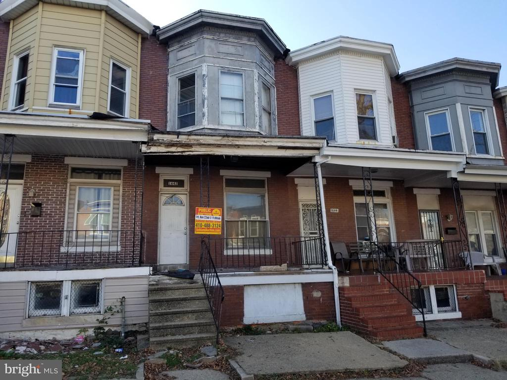 ONLINE AUCTION:  Begins 1/20 @ 10:00 am. Ends 1/21 @ 3:20 pm. List Price is Suggested Opening Bid.  2 story townhome in the Coppin Heights/ Ash- Co-East Area. Property is Vacant. 10% Buyer's Premium will be added to the high bid. Deposit $2,500. For full Terms and Conditions visit the auctioneer's website.