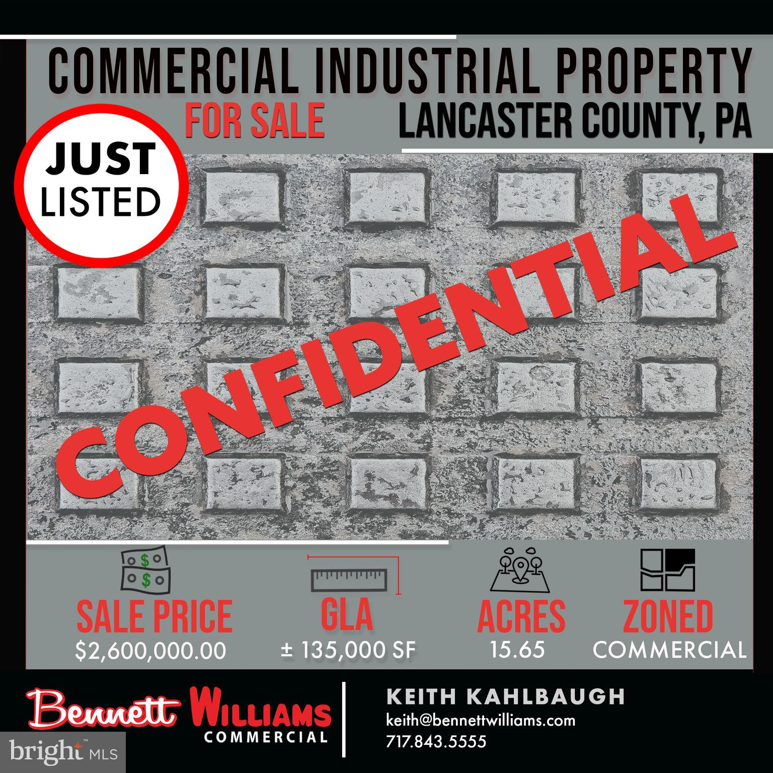 0000 CONFIDENTIAL STREET, LANCASTER, PA 17601