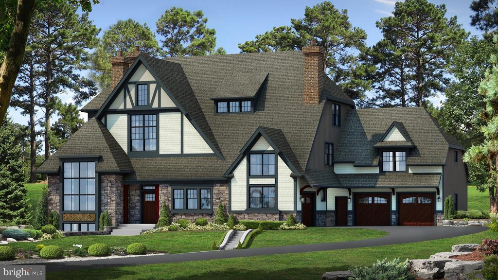 Classic Tudor architecture reimagined with abundant natural light, dynamic new floor plan, set on a 1.6 acre site on an iconic street in Haverford. Built by Mark Weiss, this 5 Bedrooms/6 Full Baths/2 Half Baths home offers a total of 9,415 finished square feet with partially finished lower level with full bath, and 1340 square feet of finished attic space with full bath. Ten Foot Ceilings on the first floor and nine foot ceilings on the second floor. The Kitchen, Dining, and Family Rooms have been drawn together to create a dramatic, livable space that encourages family gatherings and entertaining.   Abundant and oversized windows throughout.