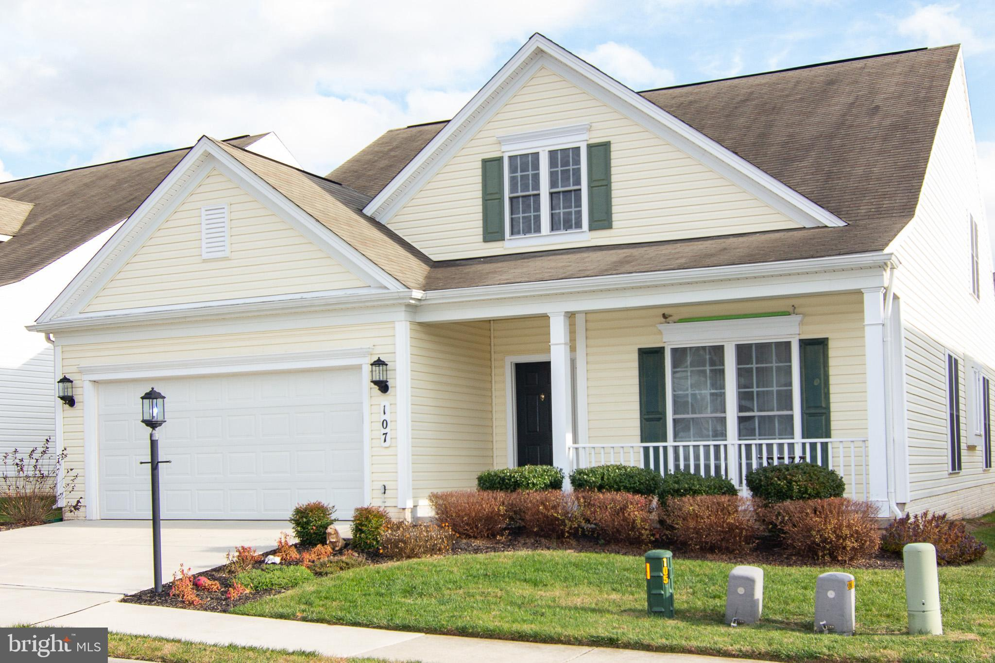 107 CLUBSIDE DRIVE, TANEYTOWN, MD 21787