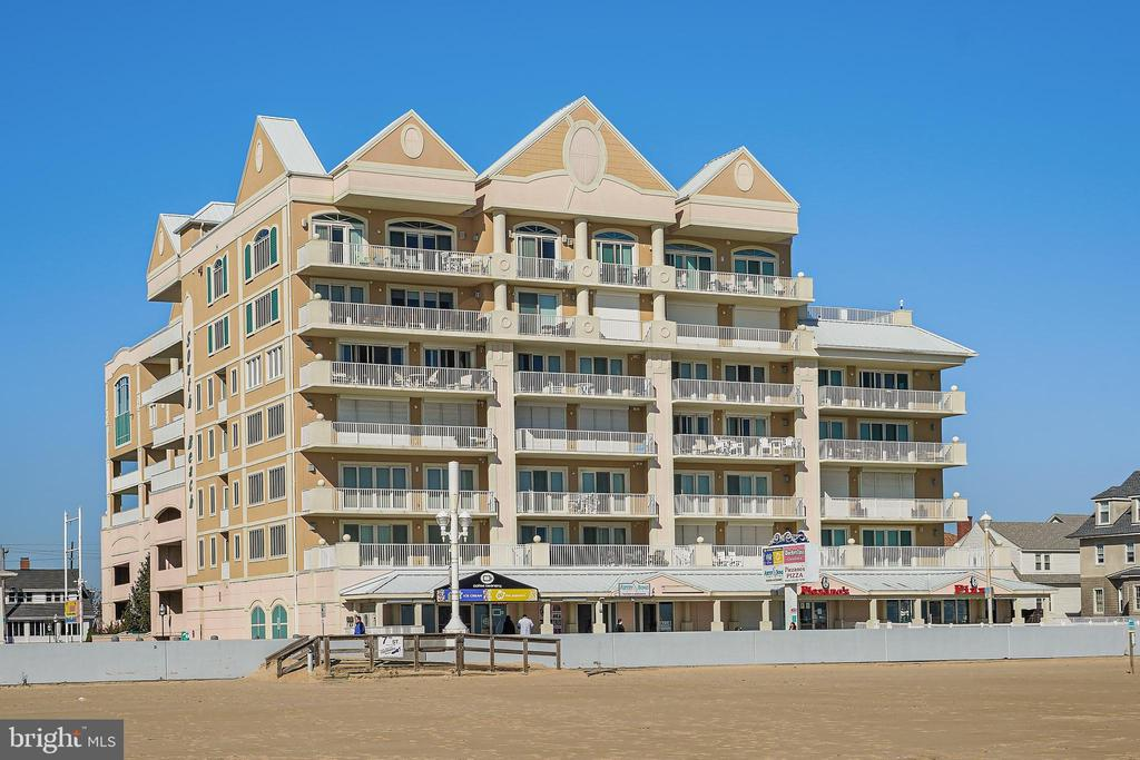 One of the best luxury Oceanfront Boardwalk Penthouses in Ocean City, MD. Meticulously maintained 4-bedroom 4-bathroom 2876 sqft property with all the features and upgrades you would expect.  Dual Oceanfront master bedrooms with spectacular, direct views of the Atlantic. The unit has two fireplaces and an open floor plan with well-appointed kitchen. Deeded premium parking spots in the covered garage are included with the unit. Additional features include a 30 ft oceanfront balcony, two hot water heaters, two dryers, dual-zoned heat, and power storm shutters. South Beach is a secure, private building that is well managed. Amenities include an outdoor pool, indoor pool, and fitness area. This property truly delivers an unparalleled coastal style of living.