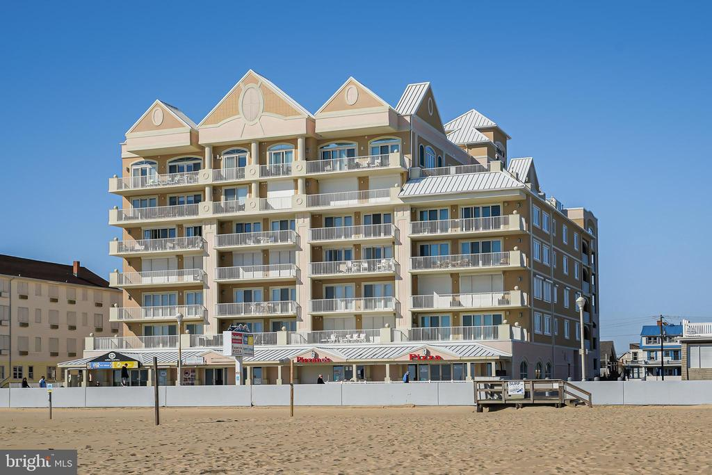 One of the best luxury Oceanfront Boardwalk Penthouses in Ocean City, MD. Meticulously maintained 4-bedroom 4-bathroom 2876 sqft property with all the features and upgrades you would expect.  Dual Oceanfront master bedrooms with spectacular, direct views of the Atlantic. The unit has two fireplaces and an open floor plan with well-appointed kitchen. Deeded premium parking spots in the covered garage are included with the unit. Exceptionally large storage room/locker located on the same floor as your unit that is perfect for all your beach toys and bikes with plenty room left over. Additional features include a 30 ft oceanfront balcony, two hot water heaters, two dryers, dual-zoned heat, and power storm shutters. South Beach is a secure, private building that is well managed. Amenities include an outdoor pool, indoor pool, and fitness area. This property truly delivers an unparalleled coastal style of living.