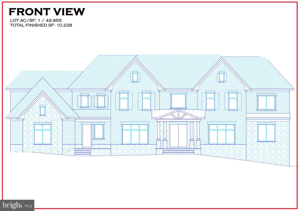 Another stunning project from A.R Design Group with interior design by Hallstrom & Associates. Exterior is complete and interior is underway on this picture perfect 1 acre lot one light from I-495 and Georgetown Pike. This stunning home has 7200 sq ft on the main/upper levels with over 10,000 sq ft of total finished space! There are a total of 6 BR and 6.555 BA throughout the house. The main/upper levels have 4 large BR w/walk in closets and full baths, a large lounge area and Master Bedroom suite. No basement is complete without an exercise room, movie theater and wine cellar. Still time to customize features/options from our 8000 sq ft Design Center and customize the home to your lifestyle! Anticipated delivery is Summer 2020!