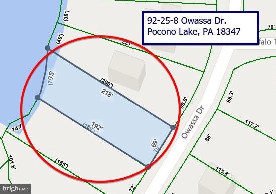 92-25-8 OWASSA DR, POCONO LAKE, PA 18347
