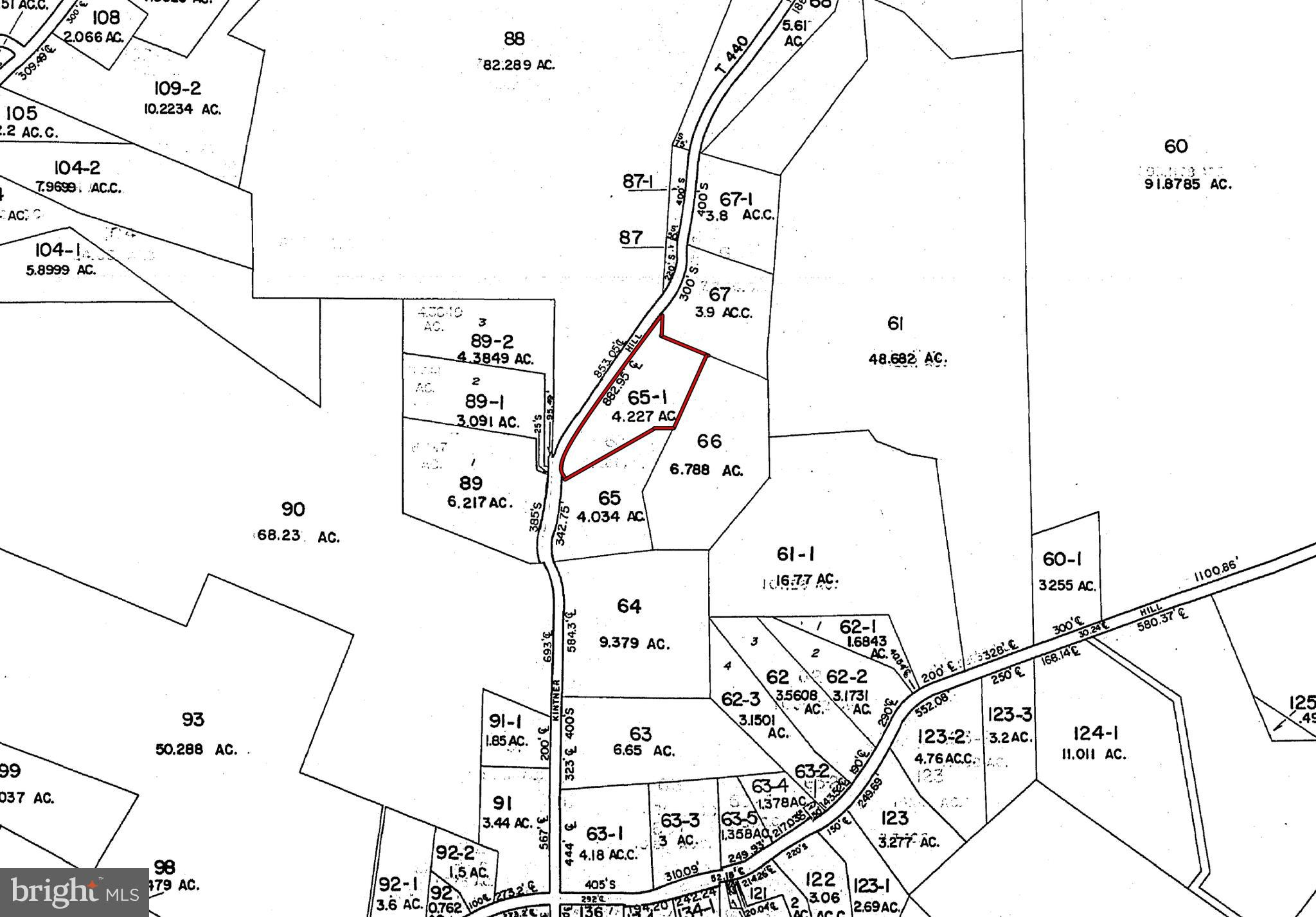 Lot 065 KINTNER HILL ROAD, NOCKAMIXON, PA 18972