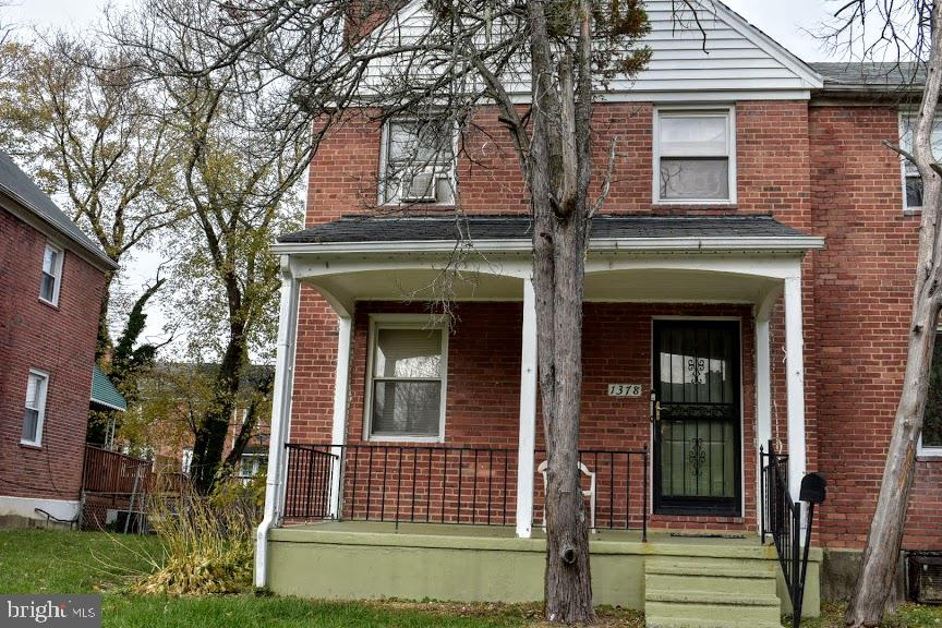 3 Bed 2 Bath  end unit. Sold as is.  Front porch and  above ground pool. Rear deck  with  fenced yard,