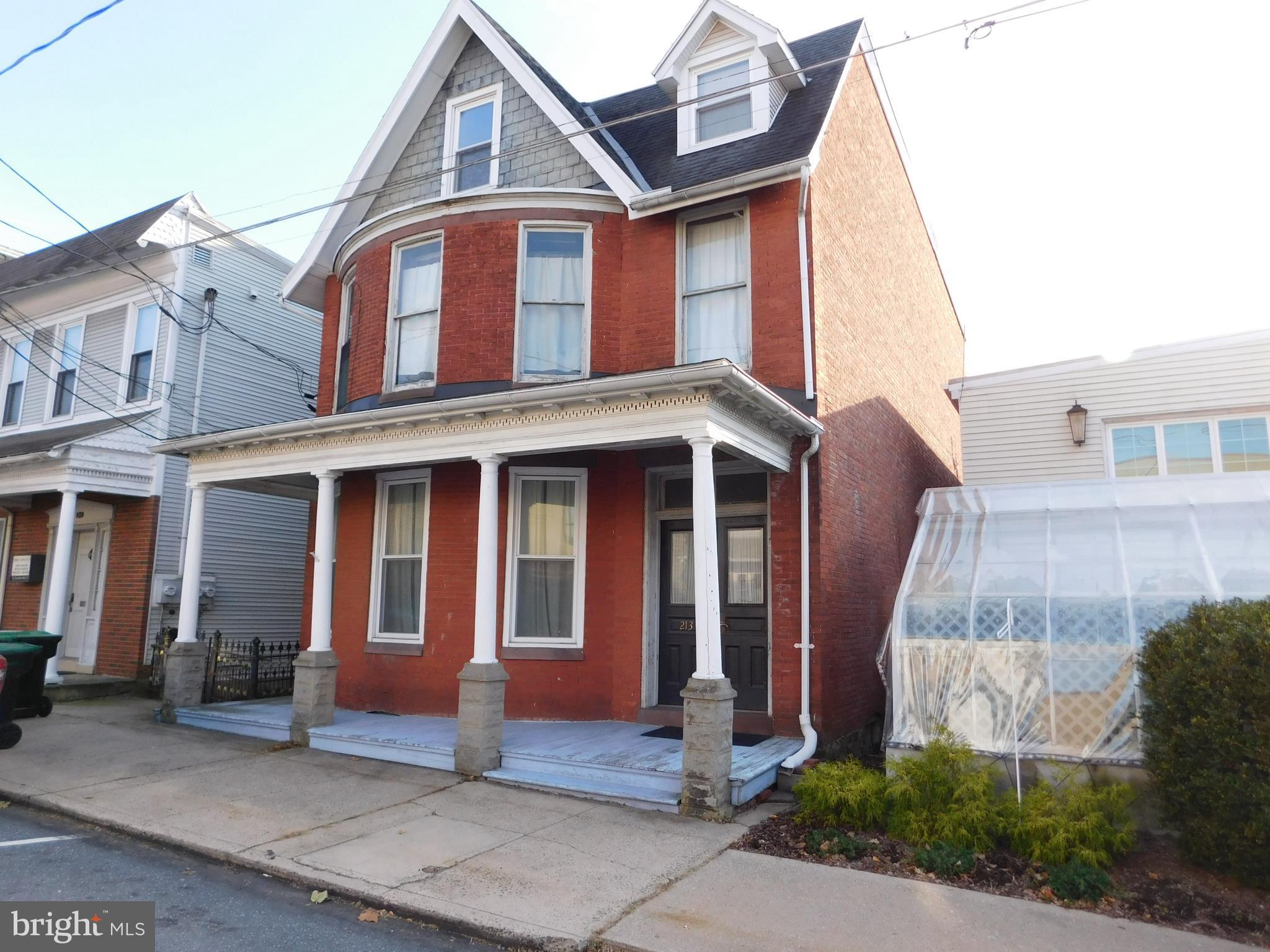 213 W MARKET STREET, ORWIGSBURG, PA 17961