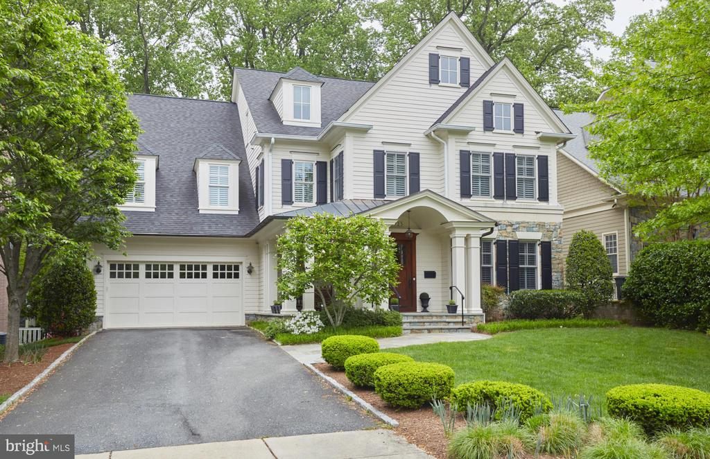 Seller says SELL!  Reduced to excellent opportunity for this 4 level custom home built in 2006.  Not a spec home. Custom Mill Work, 10 ft ceilings 1st floor, 9 Ft. ceilings elswhere. Every Bedroom (6) is an en suite. Luxury Owner's suite with Cathedral Ceilings, Windows Galore leading to large His/Her Walk-in Closets.Steam Shower , Heated Floors  in Master Bath.1st Floor Study, Gourmet Kitchen, Fully Finished 4 levels of Luxury and Quality.   Walk to Pyle/ Whitman Schools, Flat Fenced Rear Yard. Superb Value, Mint Condition.....the Home To See. 1031 exchange, Seller holds real estate license.