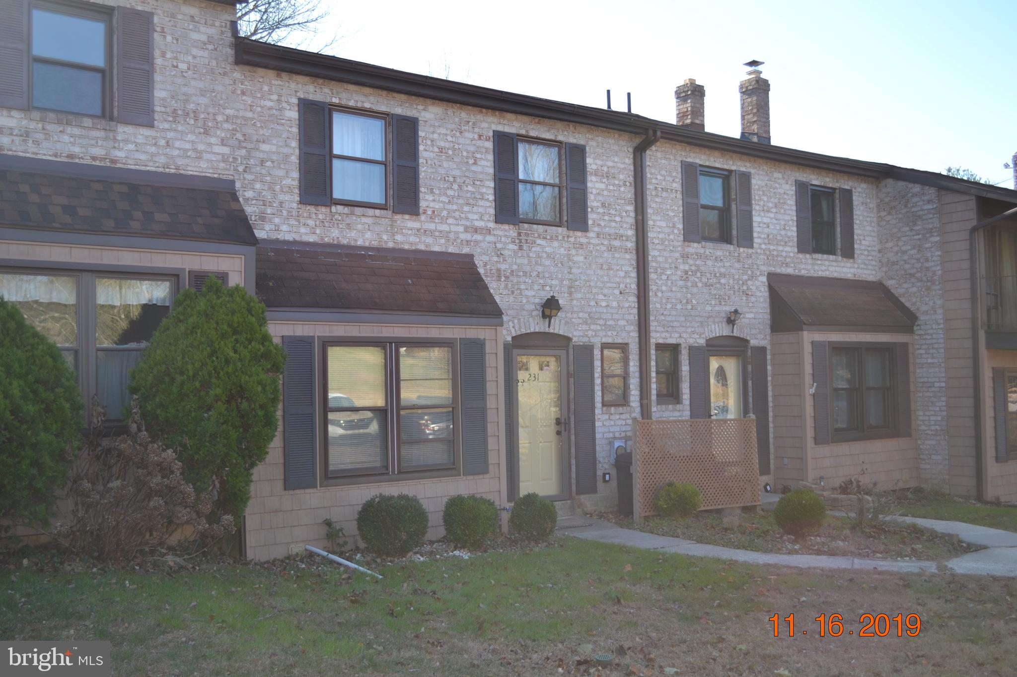 231 BISHOPS DRIVE, CHESTER HEIGHTS, PA 19017
