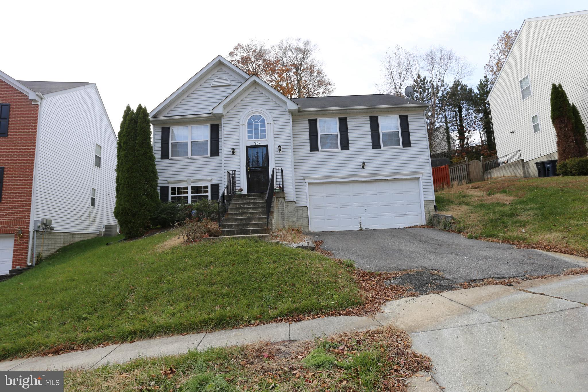 1602 SHADY GLEN DRIVE, DISTRICT HEIGHTS, MD 20747