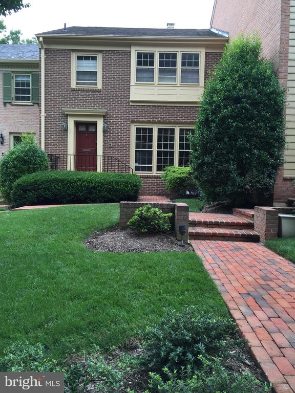 """This townhome is settled in a beautiful community Westbard Mews, backing to the Capital Crescent Trail, and is near/minutes to DC, Virginia,  495 & 270,  and Westbard shopping center.    4 bedrooms, 3  & half baths.   Gracious entry foyer,  large living room with tall windows,  separate dining room,  2 wood-burning fireplaces, wet bar,  central vacuum on each floor, private patio.  Crown molding, wainscoting, refinished hardwoods throughout.   Large master bedroom & master bathroom, including walking closet, 2 bedrooms with hall bath  in upper level.   Open floor plan in Lower level,  great entertaining space, large family  room, bedroom & 3rd full bath in lower level exiting to a private patio.   Hardwood floors on 3 levels, large laundry room, attic storage.   Easy living, exterior maintained by owners association.  Mature landscaping.  Near shopping, restaurants, minutes to Friendship Heights Metro.  Ride-On Routes 23 & 29 stops are steps from the property.  PLEASE PARK ON RESERVED SPOTS #2 & #31 when showing.  Two VISITOR spots at the end of the parking lot.  Must see!""""spacious"""" in the exclusive quiet enclave of Westbard Mews. Steps to Metro Bus on Massachusetts Ave.    OPEN SUNDAY December 1st from  2-4 PM!!!!!"""