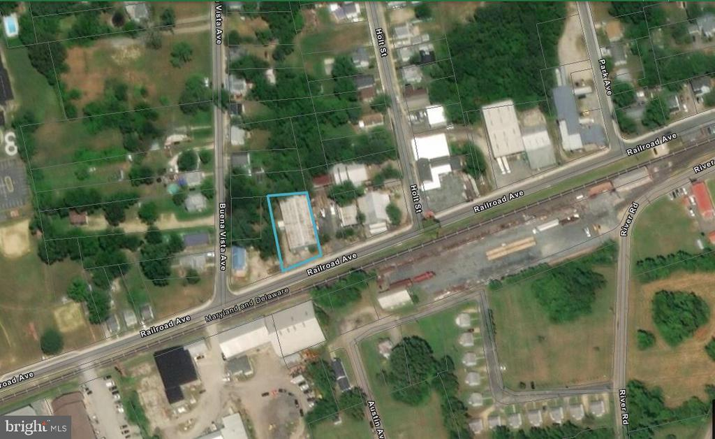 310 Railroad (Cross Holt Street ) Avenue, Federalsburg, MD 21632