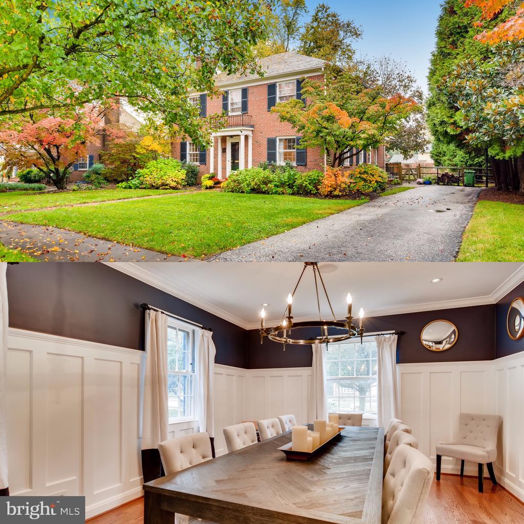 Beautiful Baltimore Colonial featuring ample interior and exterior updates. Large, light filled rooms with gleaming hardwood floors throughout, make this home a must see! The recently renovated kitchen has gorgeous marble countertops, high end stainless steel appliances and an abundance of cabinet storage. The informal living room addition will be your favorite room in the house with a wood burning fireplace, exposed brick details, and oversized windows overlooking the large backyard. The custom millwork in the dining room bring instant elegance and character while entertaining. The living room is a great gathering spot with an abundance of natural light, home audio speaker system, and a second fireplace. The four bedrooms on the second floor all have beautiful hardwood floors and the walk in cedar closet is not to be missed! The spacious master bedroom has an updated en-suite bathroom with a dual head shower and high end finishes. Basement was fully renovated in 2018. There is new carpeting throughout and a large laundry room with built in storage. The fifth bedroom features recessed lighting and an en-suite bathroom with a fully tiled shower, custom glass door, and top of the line fixtures. Property has great curb appeal and is situated on a well-manicured .36 acre landscaped lot. Have instant peace of mind with this home with a new main sewer line, back flow valve, and downspout diverters. The exterior is just as lovely as the interior, and the expansive, fully fenced backyard is a unique find in the city! Set up your showing today!