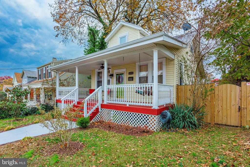 You must see your future gem of a home in the heart of Brookland! 3 bedrooms and 3 full baths await you in this classic yet contemporary appointed Brookland Bungalow. Private upper level spacious master bedroom with en-suite bathroom and additional sitting area perfect for an office space, nursery, or your own personal yoga studio! Main level boasts of 2 bedrooms and another full bathroom with contemporary fine finishes such as crown molding, new kitchen countertops, stainless steel appliances, and a stone accent stairwell wall.  Fully finished basement with stylish built-in shelving, impressive dry bar and beverage refrigerator to serve your creative cocktails or bold barista concoctions. The large yard is one that is ready to host all of the memory-making functions for years to come!  Both Brookland and Rhode Island Metro Stations are conveniently located.  If you've never lived in an enviable tree-lined street neighborhood with long-standing and trendy new restaurants all on one street with parks to let's your pets and kids run free...we'll wait no more...come, see, fall in love... bring in the New Year in your new home!