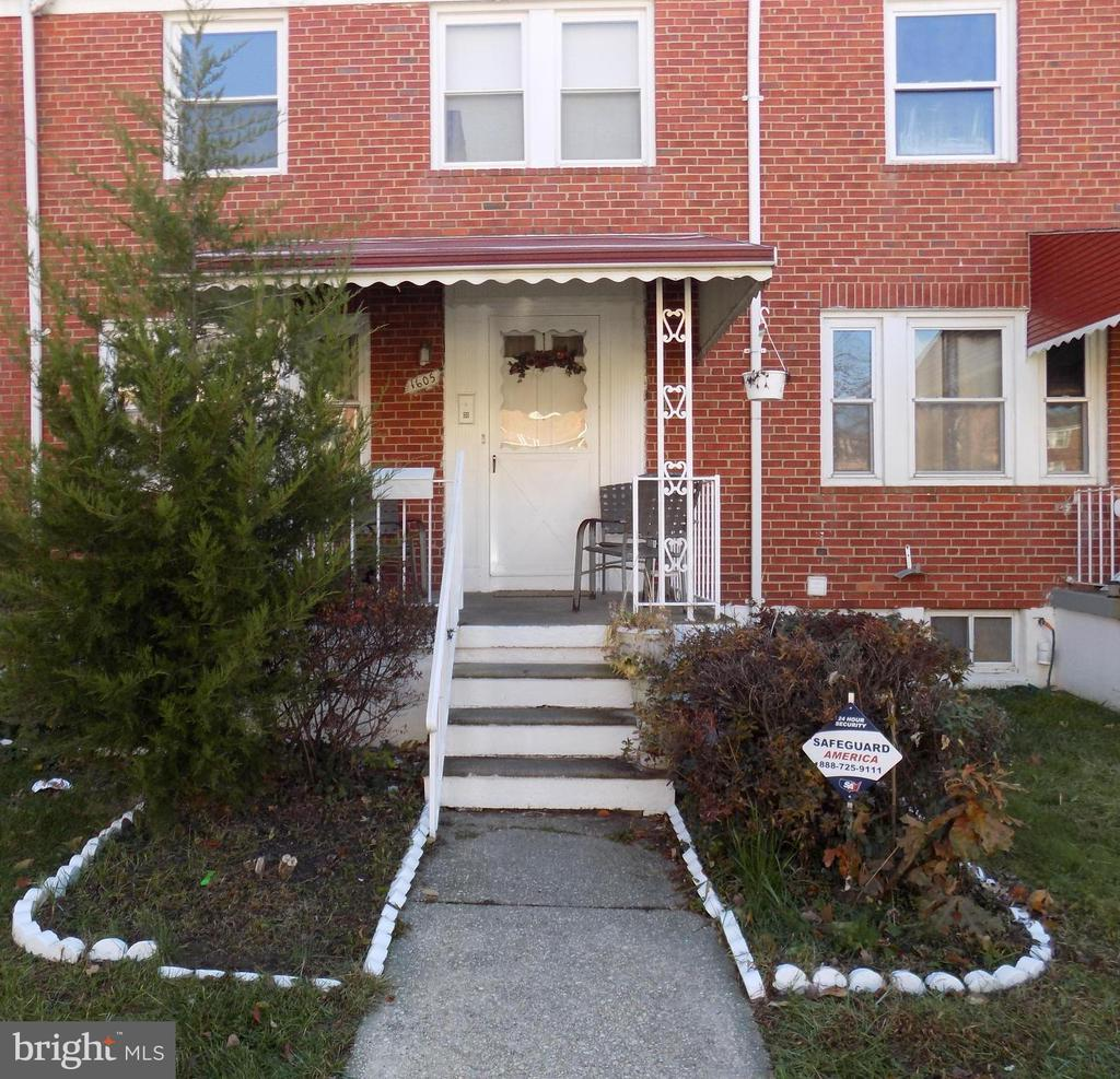 A New Home for the Holidays!  Spacious row home near Morgan University.  Seller has priced for a Quick Sale! 4 Bedrooms, Master Bath and hard to find  entry level  bedroom! Large eat-in Kitchen with stainless steel appliances. Relax and entertain this summer on the rear covered patio.  NEWER Hot Water Heater(2019) and Furnace  (2017).  All that's needed is your personal touch!
