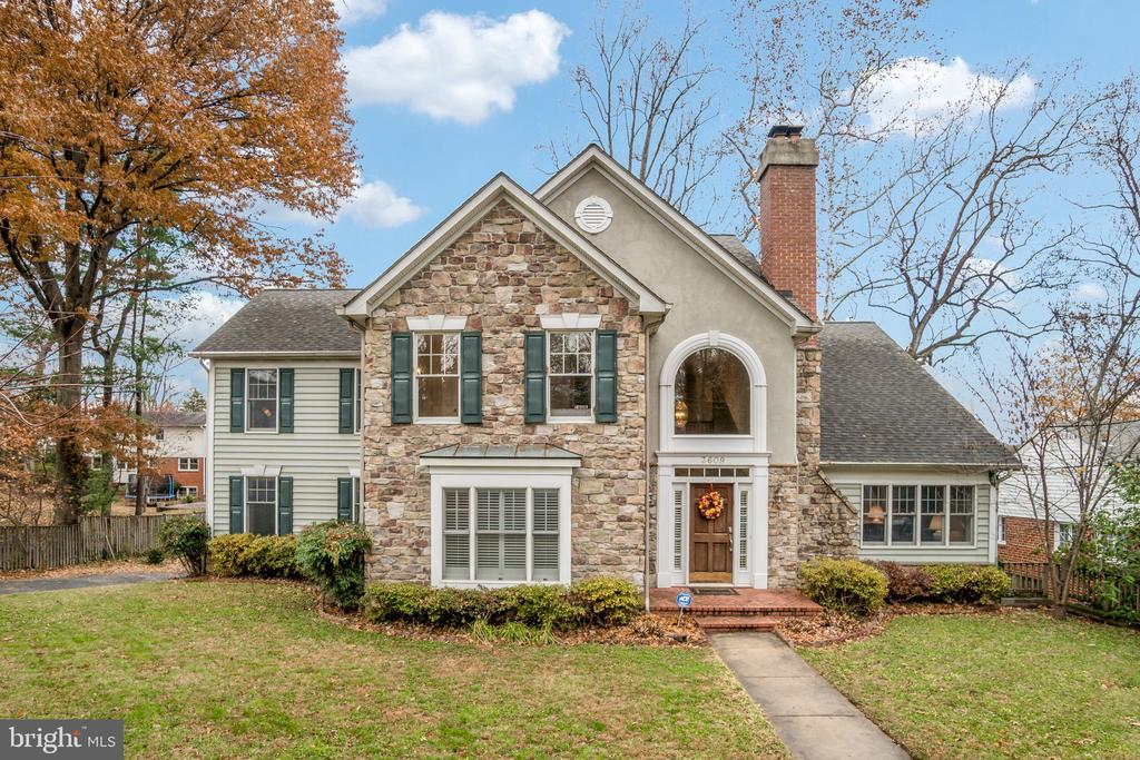 Stunning center hall Colonial!!  This location can not be beat!  This one-of-a-kind Chevy Chase home is right off Connecticut  Ave and allows easy access to downtown Bethesda,  DC and Baltimore. This immaculate  4 bedroom, 4.5 bathroom  home features gleaming hardwood floors on the main level!  Main level powder room, office and laundry room compliment the oversized formal  living room, dining room, oversized great room and gourmet Chef's kitchen!Flooded with natural light.  The vaulted ceiling living room showcases the beauty of this home-perfect for casual and formal entertaining.Complimenting this home is a 2-car garage, a large deck w/ fenced-in backyard and a sun-filled carpeted walkout lower level SHOW, Call 1st lister-2 hrs notice.