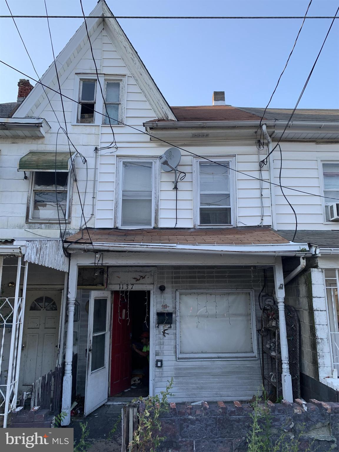 1137 WEST PINE STREET, COAL TOWNSHIP, PA 17866