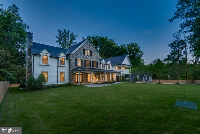 Located on one of the most sought after streets in the D.C. area, a tree-lined driveway leads to a pedigreed home that is uniquely sited to afford the unparalleled conveniences of Downtown Bethesda as well as Downtown Washington. Sited on meticulously manicured .68 acres, the home is comprised of ~12,000 sq. ft. including 7 bedrooms and 8 full baths, several fireplaces, theater room, Lutron smart home system and a gourmet kitchen that ties in both contemporary trends with traditional splendor. This is truly a one-of-a-kind opportunity for the discerning purchaser looking for exclusivity, privacy, and the ultimate in traditional, contemporary Bethesda living. The luxury design combined with the spectacular scenic location provides all the elements for the pinnacle of Bethesda property.