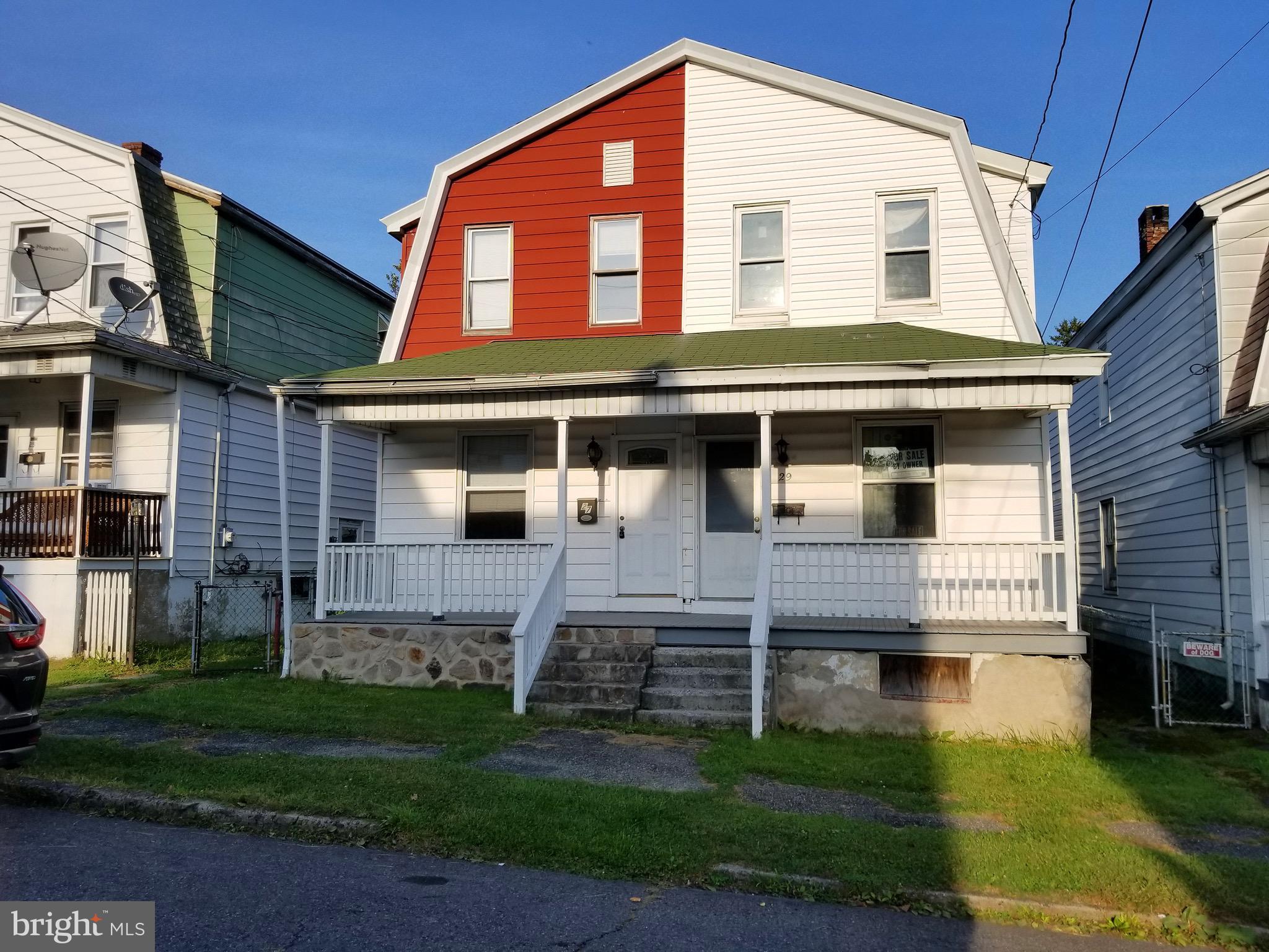 27 S 4TH STREET, FRACKVILLE, PA 17931