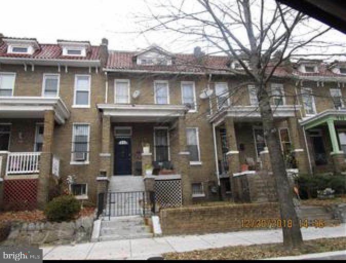 "Great opportunity to renovate in the ""Park View"" area of Washington, D.C. Parking in the back. Half a mile from the metro. Cash or renovation loan only.Appointment only."
