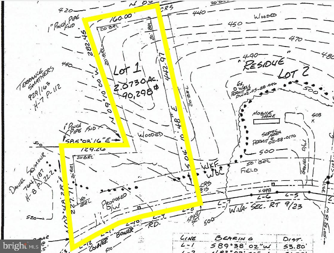 Vacant land, approx. 2.073ac +/- on Conner Bowers Rd. Property has been perc'd.