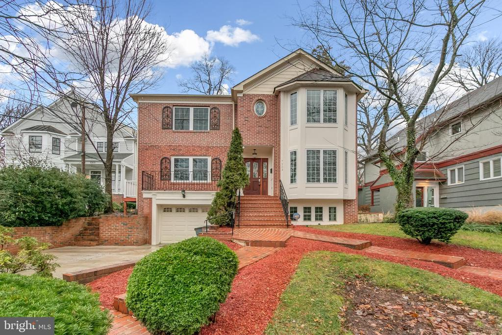 Stunning Colonial! Property features refinished hardwood-floors, fresh paint and carpet, updated bathrooms, modern kitchen with lots of cabinetry and kitchen island, fully finished basement, garage deck and very nice fenced rear yard!