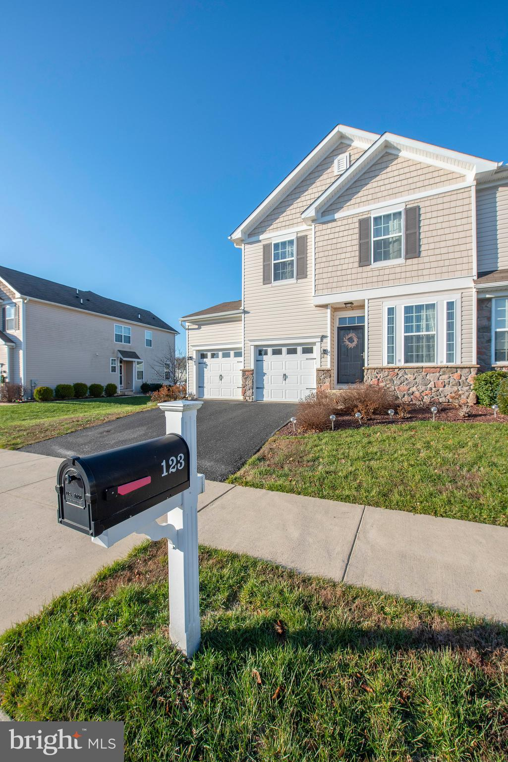 Come Check Out This Amazing Twin Home Located Along the C & D Canal in Canal View at Crossland. Upon Entering This Home You Will Be Greeted Into the Large Foyer/Sitting Area.  Pass by The Powder Room and Mud Room on Your Way to the Open and Inviting Kitchen Complete with Granite & Stainless Steel Appliances, Living and Dining Area with Gleaming Hardwood Floors, All Located at the Rear of the Home.  Enjoy Spending Quality Time on the Patio Just Out the Back Door. This Layout Includes a Spacious Master with Large Sitting Room, Master Bath Complete with Walk In Closet and Two Additional Bedrooms on the Second Floor. You'll Find the Laundry Area on the 2nd Floor Which Includes the Washer & Dryer. Make Your Way Down to the Finished Basement with Recessed Lighting, a Full Bathroom and a Separate Room That Can be Used as a 4th Bedroom or Office! This Incredible Community is Close to Shopping Areas, Recreational Facilities and Hospitals. You can Enjoy the Walking Trails Along the Community Close to the Canal During Your Spare Time.  Pool and Recreation Center at  will be Available  for use  at The Crosslands at Canal this Summer!  Conveniently Located Near Routes 1, I-95, 13, 301  & 896!  The Entire Home Has Been Professionally Cleaned and Ready for It's New Owners!