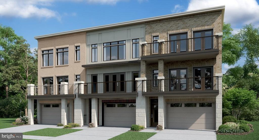 Well appointed 3 level town home- contemporary design. Great location- easy access to Toll Rd/ Rt 7 and all major conveniences. Under construction- estimated completion March 2020. Interior photos are of the Arlington model home.