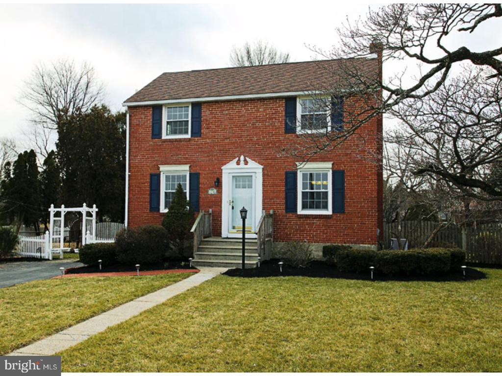 Well maintained three-bedroom brick colonial with 6 car parking, central air, finished basement and spacious backyard. This home is conveniently located to all your major roadways, public transportation and short drive to all the shopping & restaurants of King of Prussia. 1706 Sterigere also sits across from the Norristown Farm Park which has a stream and plenty of walking & running trails. The first floor has hardwood flooring throughout the living & dining room. The kitchen has plenty of cabinet space, Pergo flooring and beautiful granite countertops. Second floor has 3 bedrooms & 1 bathroom, all bedrooms have ample closet space. Bathroom has a tiled floor and tiled tub/shower combination. Basement is partially finished and offers an additional living space as well as laundry and plenty of storage. Enjoy the upcoming Spring on your wood deck that overlooks a spacious backyard. Schedule your showing today !