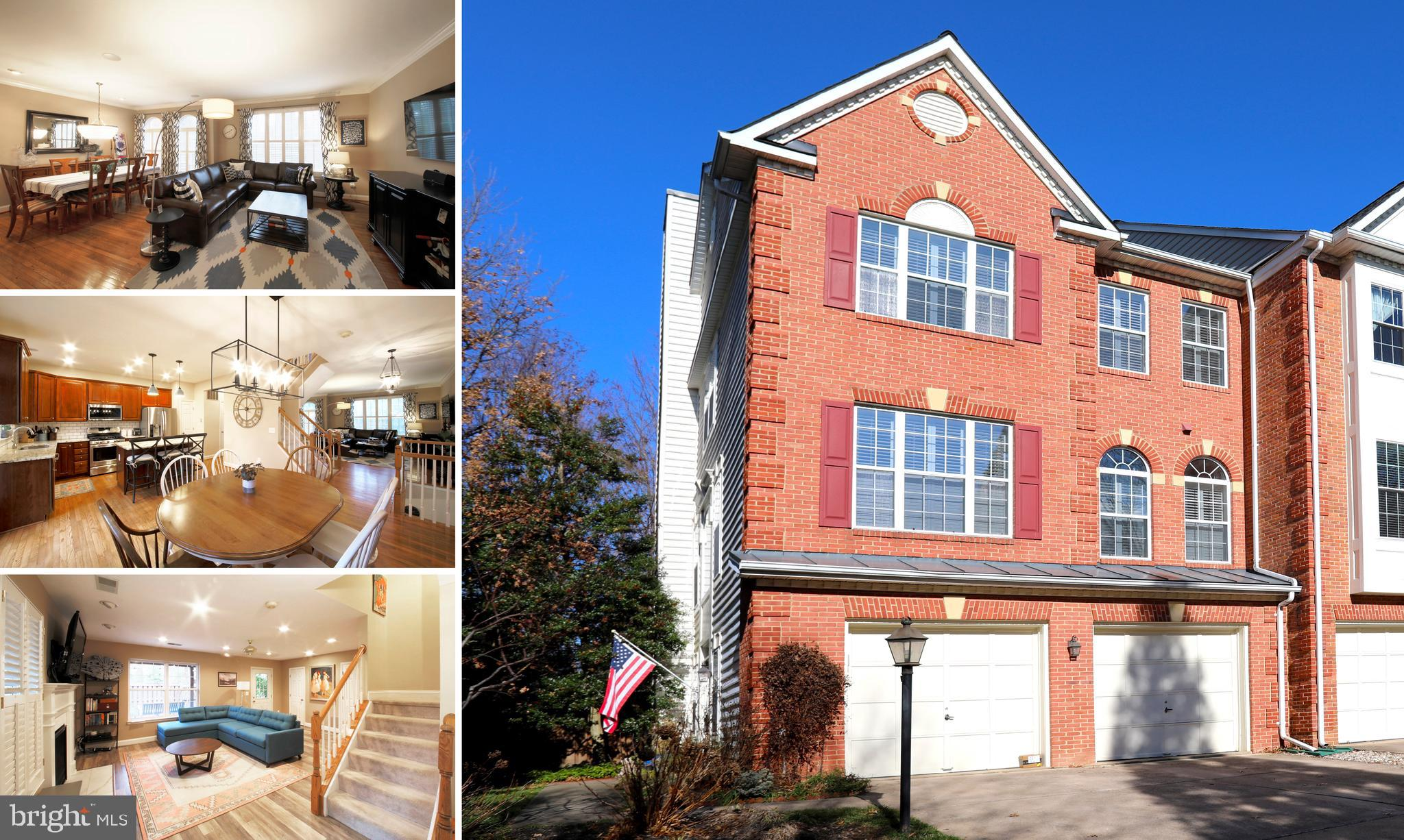Rare opportunity to rent a home with so many unique features!! Beautifully updated large end unit town home with an open floor plan, less than a mile walk from the Vienna Metro on the Orange Line, close to Nottoway Park!!. Easy access to major commuter roads ~ I-66, I-495, Rt 123, Rt 50. The home goes to Mosby Woods, Thoreau and Oakton HS.The home has many beautiful features - Updated light fixtures, doors and hardware dazzle throughout! Walkout basement with garage entry, family room with beautiful gas fireplace, LVT flooring, half bath, washer/dryer and storage closets! Walk out from the family room on to a private, oversize, fenced backyard landscaped with a beautiful stonescape.The main level has an open floorplan with a large living and formal dining room combination, half bathroom and a large updated kitchen complete with granite countertops, cherry cabinets, SS appliances, and a large eating area that open out onto a private deck.The upper level has a large master bedroom with an attached walk in closet and beautifully updated master bathroom. Master bathroom has a shower stall, bathtub, double sinks, granite counters. The hallway connects to 2 bedrooms and a hall bath.  Owners have 2 bulldogs in the home currentlySORRY - PETS NOT PERMITTED. Available March 15th or so. Minimum lease term 1 year.