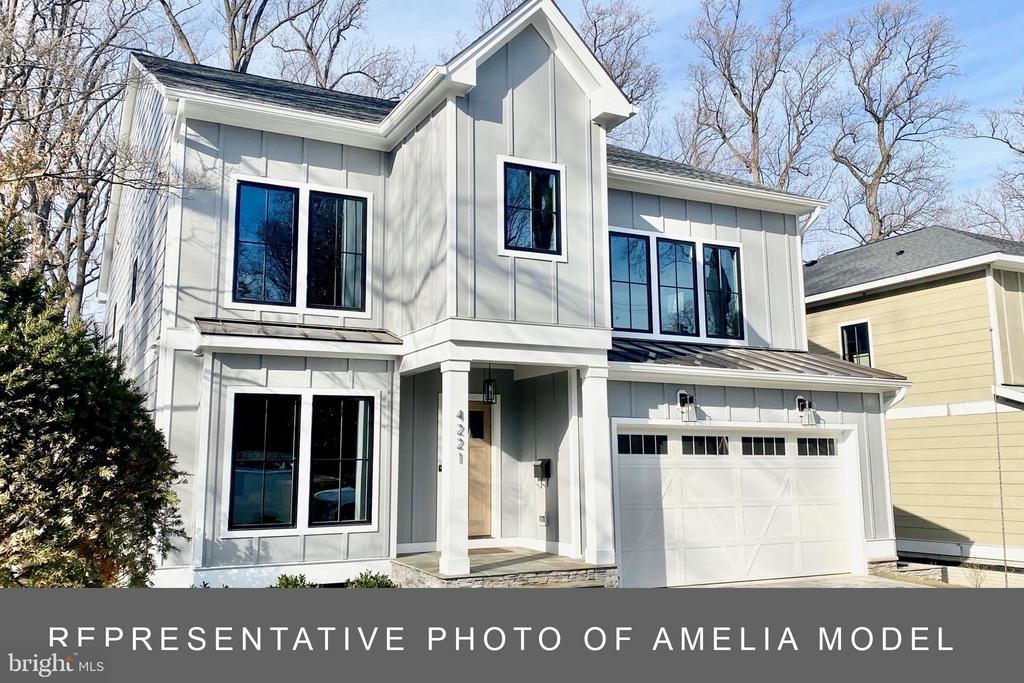TO BE BUILT - The Amelia Model.  Still time to customize all finishes.  6 bedroom 5.5 baths with main level bedroom/study and full bath.  Three finished levels. Walk finished Amelia model at 4221 Lorcom Lane Open Sunday 1/12 from 1-3pm.