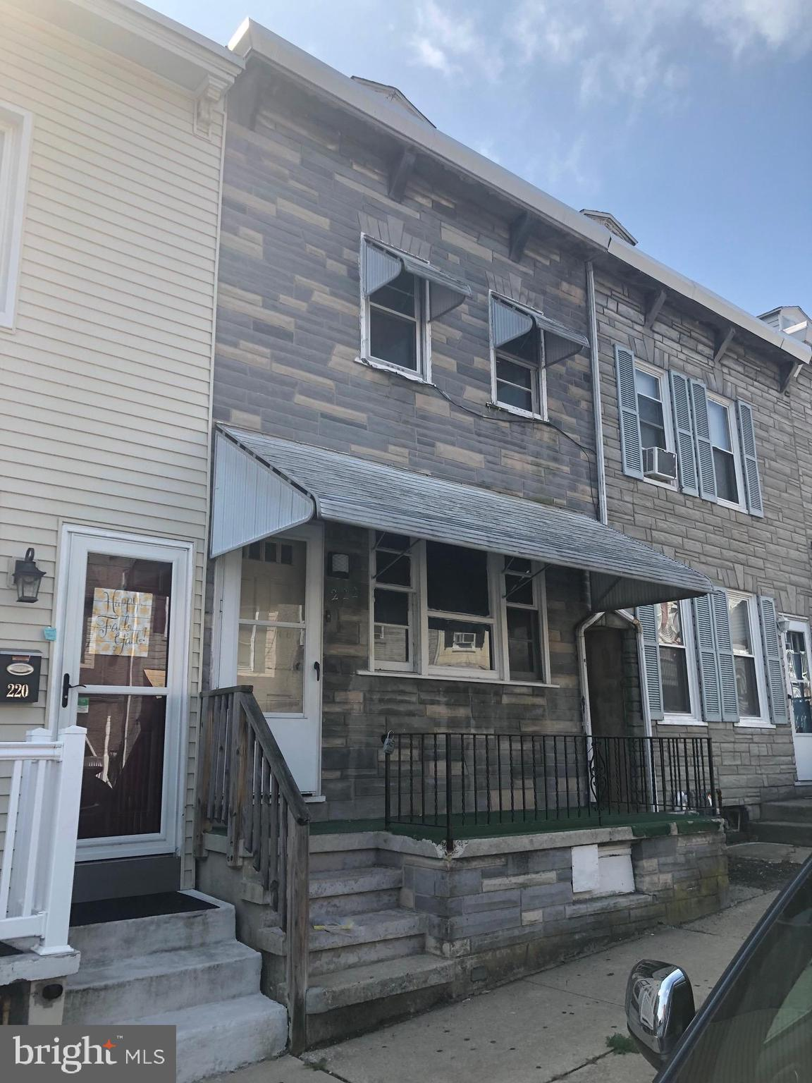 222 CHESTNUT STREET, WEST READING, PA 19611