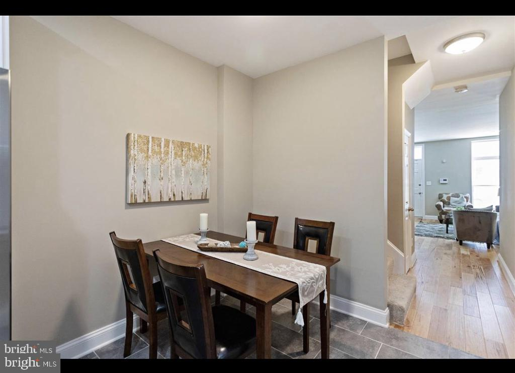 Newly renovated 3 bed 3.5 Bath house for rent.  3 blocks from Johns Hopkins Medical Campus.  Each room with en-suit bath. Stainless steel appliances, washer and dryer in unit.
