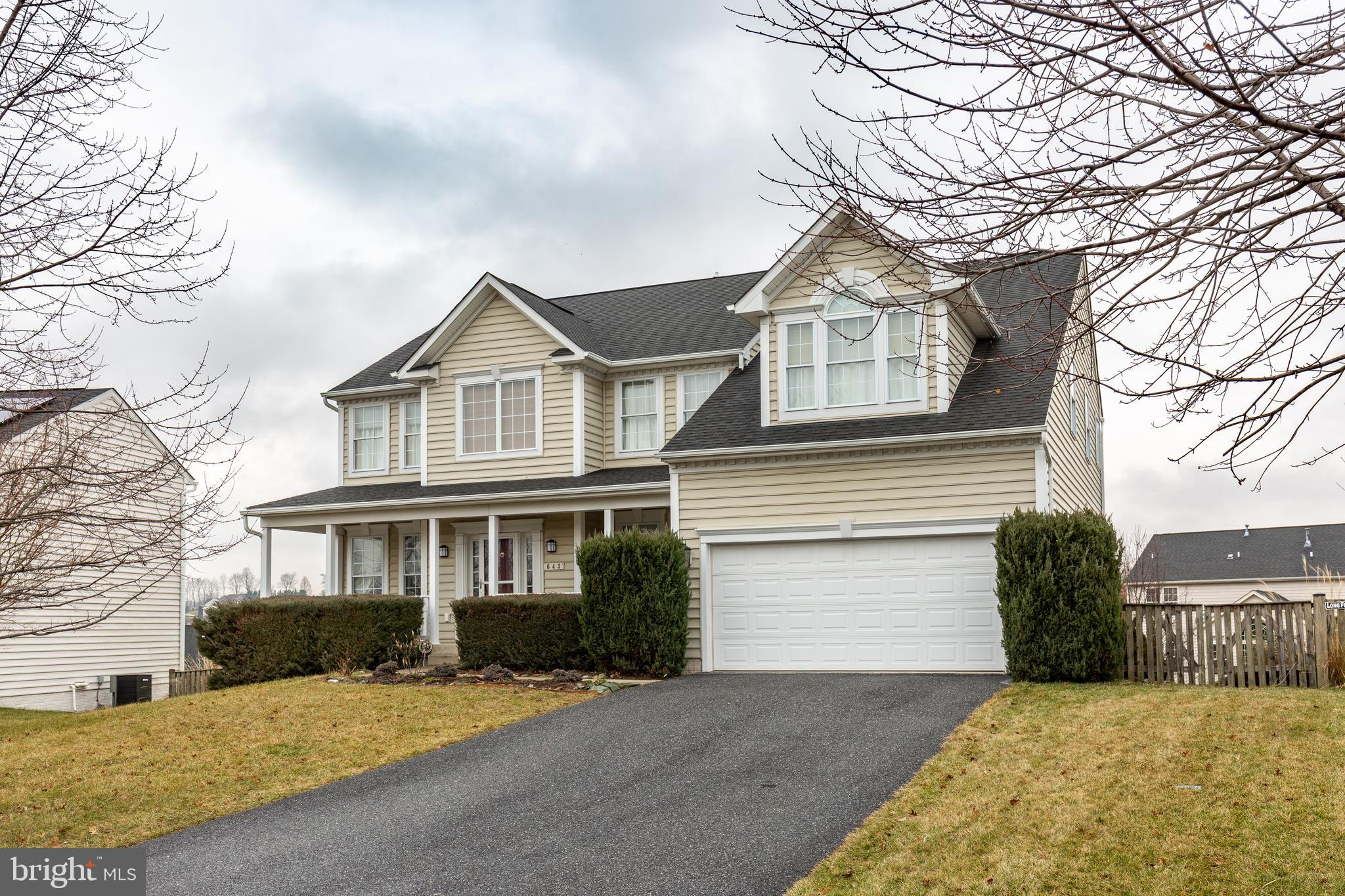 643 WYNDSTAR CIRCLE, WESTMINSTER, MD 21158