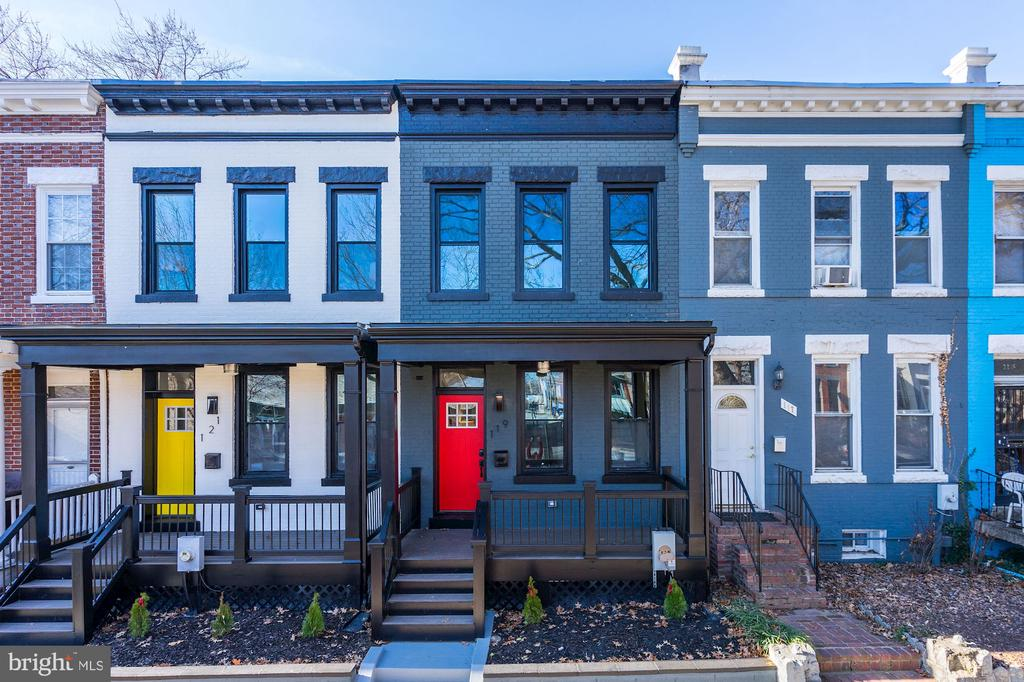 Fully remodeled row home on Capitol Hill! A short distance to Eastern Market and Barracks Row this Federal-Revival style row home with a modern touch offers abundant light and space with an open floor plan.  Garage roll-up ordered and to be installed March 2020.  Stackable front load W/D to be installed.  Full in-law suite basement with private walkout entrance. Just 3 blocks from Stadium Armory Metro and Potomac Ave Metro.
