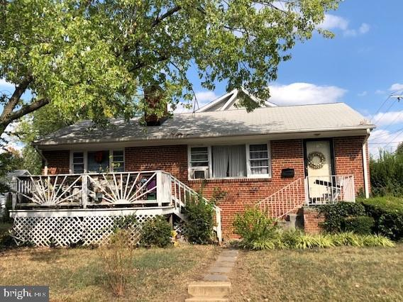 Wonderful opportunity to rehab this 2 level brick-front detached Rambler with street parking, wood floors, eat-in kitchen, flooded with light from 4 sides and all situated on a deep wide corner lot near future site of Amazon Q2. Property is sold as-it-is. The seller makes no repairs. Bring your contractor with you as this is a great investment. All offers require proof of cash funds to close.