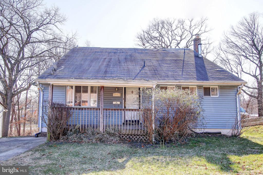 Wonderful opportunity to rehab this 2 level detached Rambler with off street parking, eat-in kitchen plus separate dining roof, flooded with light from all sides and skylights on the vaulted ceiling, all situated on a deep wide lot with easy access to RT 50. Property is sold as-it-is.