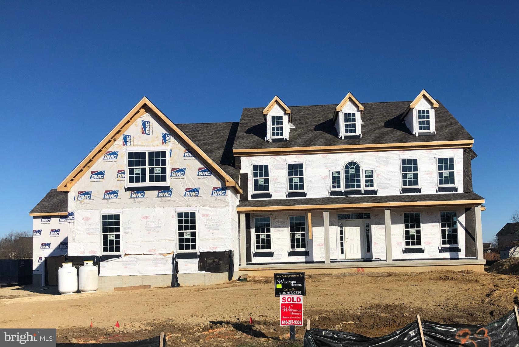 The Brittingham Country on Homesite #89 with 4 Bedrooms, 4 Baths, Study, Gathering Room, 5 car Garage and full basement.  Interior finishes include two fireplaces and two tank-less water heaters.