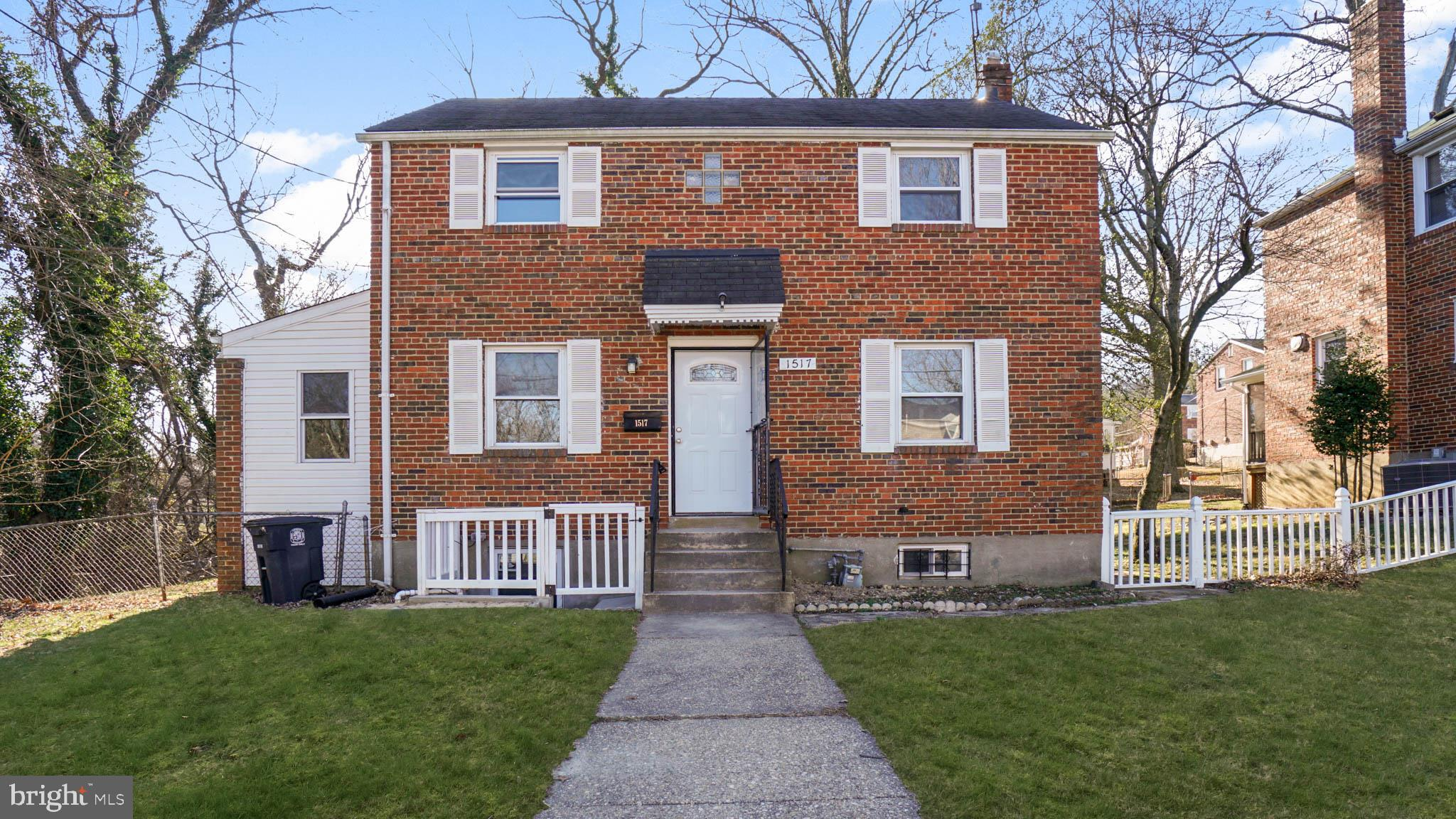 1517 JOHNATHAN STREET, HYATTSVILLE, MD 20782