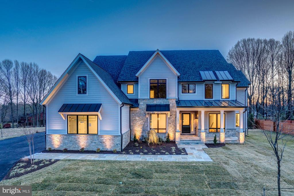 **Spring Special - Brookeville Estates is offering March Buyer incentives that will brighten the purchase of our model home even more! Buyer may choose from one of three options to be included with the sales price: 1) Fully finished basement (Rec Room, Bedroom, Media Room and Full Bath), 2) Finished 4th level Bedroom and full Bathroom, or 3) $50K towards customized options!** Welcome home to this brand-new, custom built Transitional model home, ready for immediate delivery! Located in the heart of Great Falls and in the sought-after Langley High School pyramid, this private, cul-de-sac lot backing to mature trees sits on just under an acre with beautiful black board fencing enclosing the back yard. The main and upper levels boast over 5,000 square feet of luxurious living space with an additional 1,890 finished square feet on the lower level. Standard high end features and finishes include 10' ceilings, Windsor aluminum clad windows, Quartz counters, Thermador appliances, high-efficiency dual-zone HVAC with programable Wi-Fi thermostat, three car garage with Wi-Fi compatible garage door openers. The Lavish Owner's Suite featurs a cozy gas fireplace, walk-in custom closet system of your dreams, vanity and dressing area and a Spa inspired bath. Customize your home to fit your family~s needs and desires with unparalleled optional upgrades that include an elevator to access the three main levels of the home; converting the main level Office to a first-floor In-Law Suite; a finished 4th level Guest Suite with a full Bath and spacious Bedroom; an outdoor living space that can be completed to include a beautiful patio, in ground pool, landscaping, a masonry fireplace and a stone grilling area; a gas fireplace and wet bar in the Game Room to include a beverage fridge, microwave and dishwasher. Public water and natural gas~ rare and hard to come by in Great Falls! A must see to view all of the finest and high end designer fishes and one-of-a-kind architectural design element