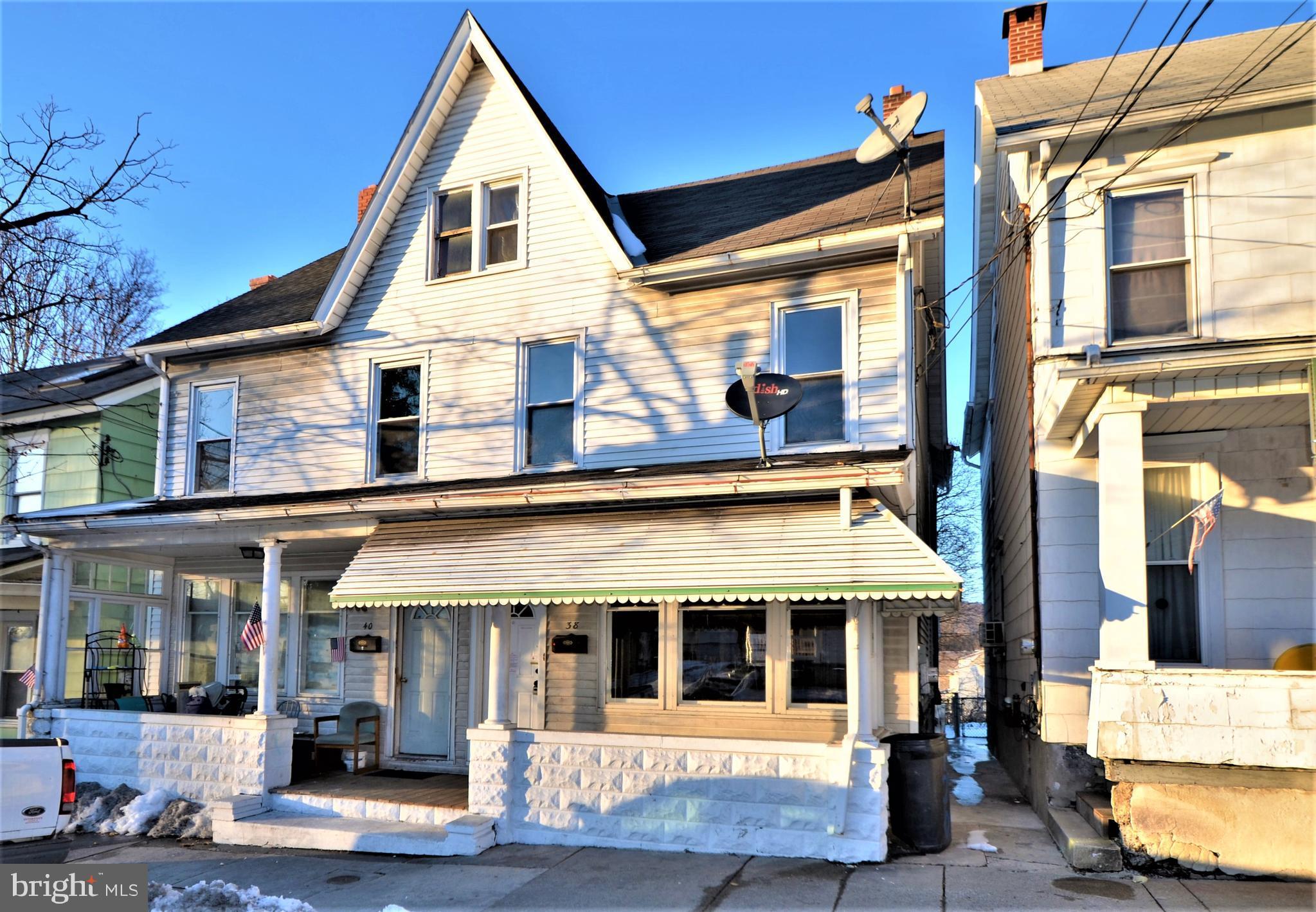 38 DOWELL STREET, SLATINGTON, PA 18080