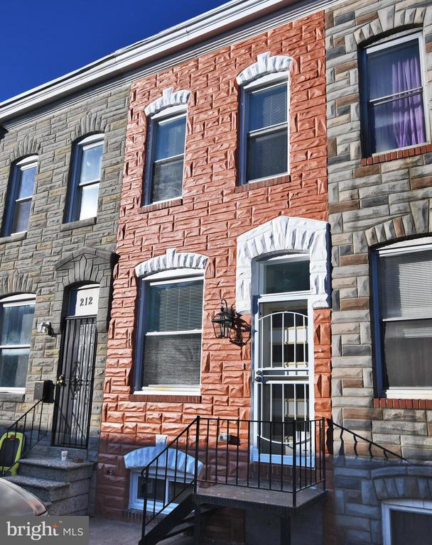 BRIGHT AND SUNNY newly renovated 2BR 1BA home.  Beautiful kitchen with stainless appliances and granite counters, modern bath, basement could potentially be finished into a rec room or use for storage.  Conveniently located to many favorite East Baltimore attractions.