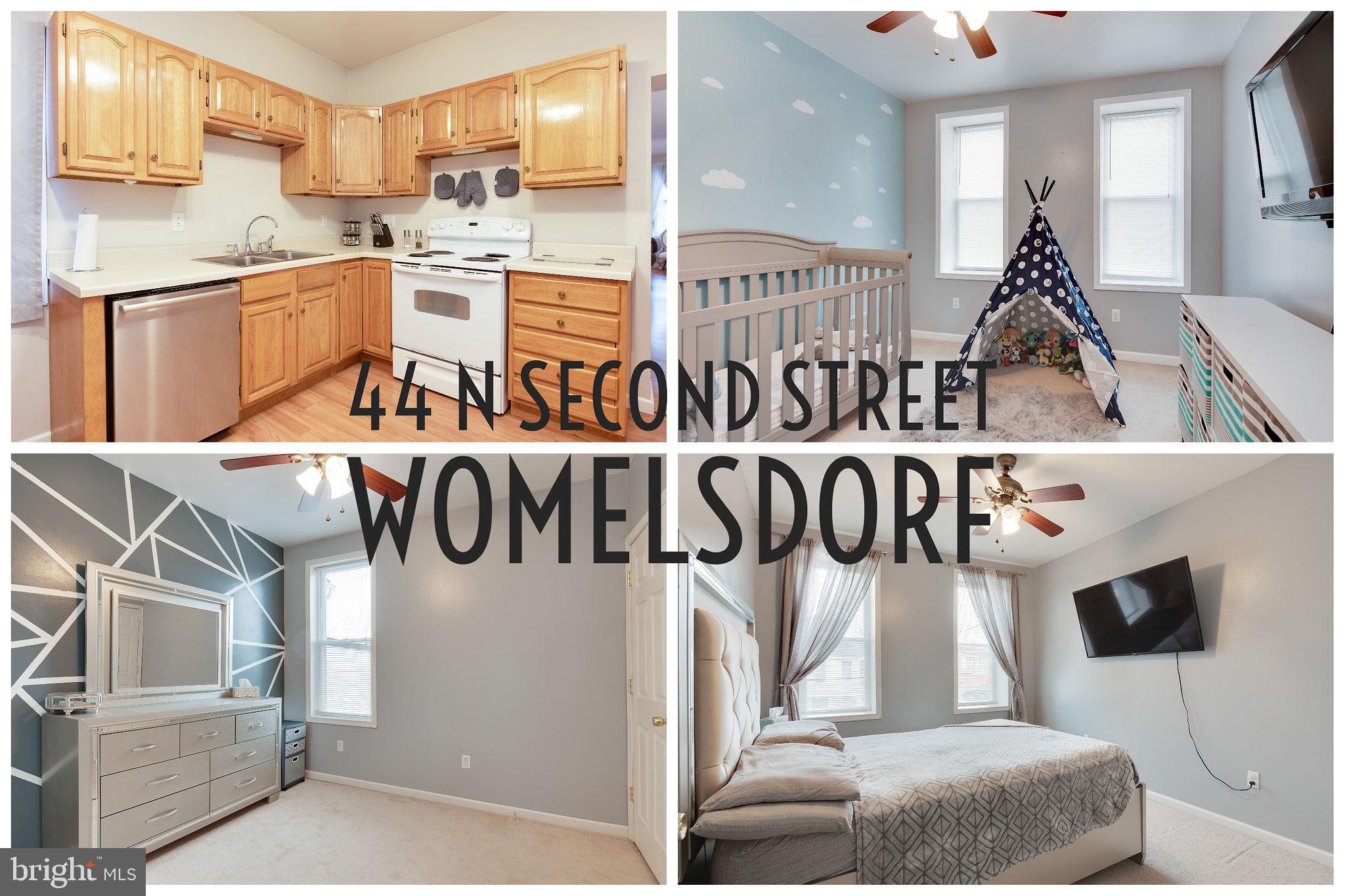 44 N 2ND STREET, WOMELSDORF, PA 19567