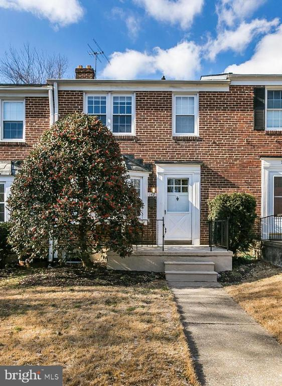 3 Bedrooms 1 1/2 Bathrooms. 2 Car parking pad in the back. Gorgeous hardwood floors throughout. Lower Level family room. Deck off the kitchen, fenced rear yard, front porch, and bay window. Clean and inviting. Credit check  $40/per applicant 18 and older. Required 630 or above credit score. $50 additional per month per pet.