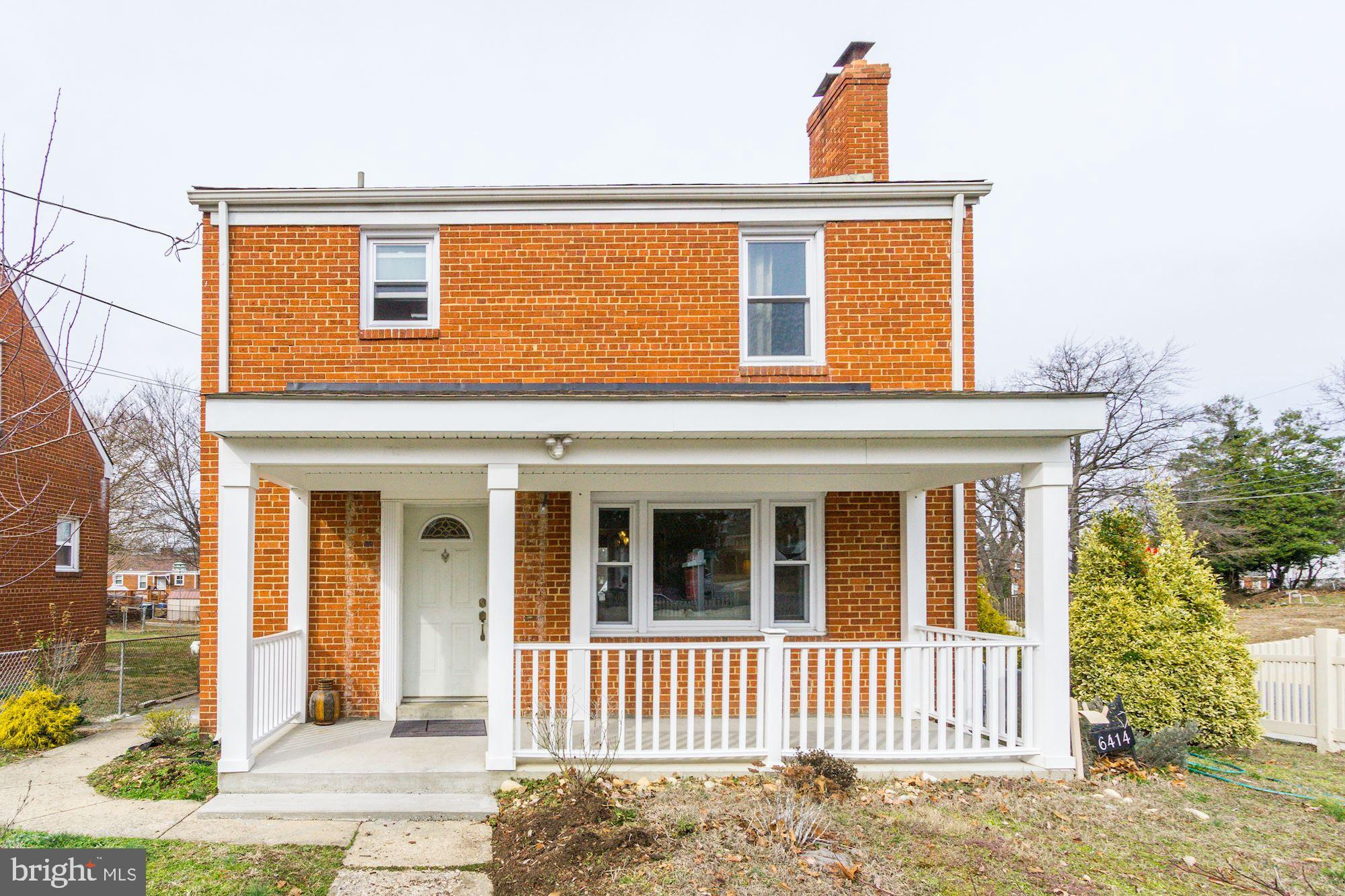 6414 FOSTER STREET, DISTRICT HEIGHTS, MD 20747