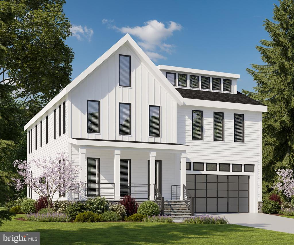This stunning 4 level modern farmhouse stands out from the typical builder home in many ways.  Designed by the owner, an architect, this beautiful home has 6,000+ sf of luxury living UNDER CONSTRUCTION within walking distance of NIH in Bethesda. Features an unique 900 sf basement flexible one bed room apartment unit with a kitchen that can serve as an income unit and a fourth floor luxurious attic suite. This 6 Bedrooms, 5 1/2 Bathrooms  is well detailed with a modern open plan design and appointed with sleek European cabinetry. Designs specs include stainless steel Thermador/Jennair appliances, EV Charger in the oversize 2-car garage, flagstone patio in the rear for  seamless outdoor-indoor entertainment, linear fireplace, all hardwood floor, high efficiency heating and cooling and a basement kitchenette/laundry . Many options to list-- and you still have time to customize finishes to make this  beautiful home  exclusively yours.  Within walking distance to NIH , on a calm street with n drive thru traffic and complete with an optional rentable apartment in the basement,  this home is strategically located for the savvy investor-owner.  Anticipated completion date is early Spring 2020. If you are looking for modern luxury  living in Bethesda, this is it!!!
